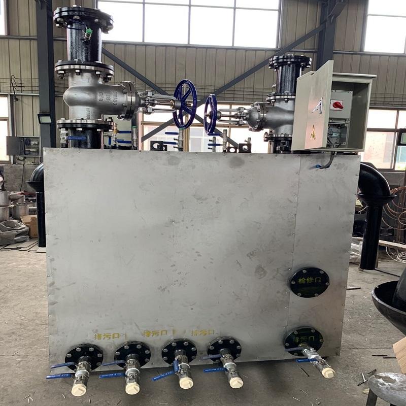 CCG型煤气管道干式冷凝水排水器(落地式、悬挂式)